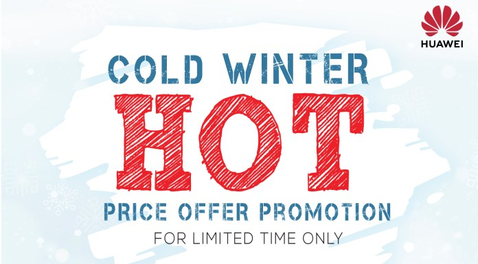 Huawei Cold Winter Offer