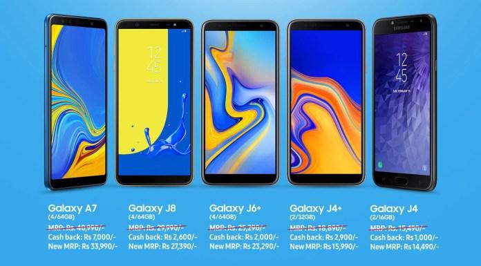 Samsung January Big Saving Offer in Nepal