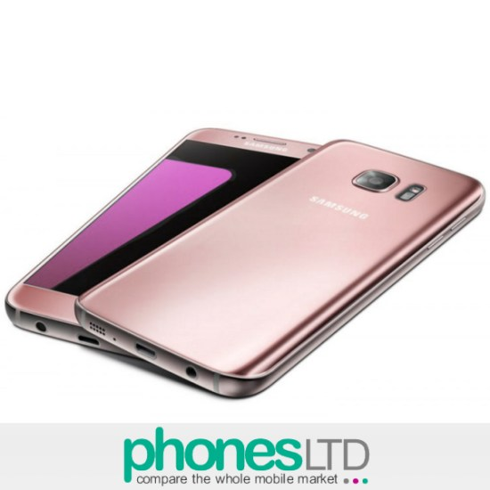 samsung galaxy s7 rose pink gold compare contracts upgrade deals phones ltd. Black Bedroom Furniture Sets. Home Design Ideas