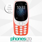 Nokia 3310 2017 Glossy Warm Red Cheapest Deals