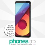 LG Q6 32GB Astro Black upgrade deals