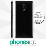 Nokia 6 32GB Matte Black Contract Deals
