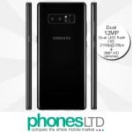 Samsung Galaxy Note 8 64GB Midnight Black contract deals