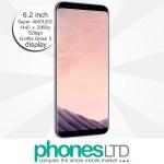 Samsung Galaxy S8+ (S8 Plus) 64GB Dual SIM Orchid Grey Deals