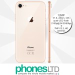 iPhone 8 64GB Gold contract deals