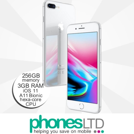 9ce3be17a0c277 iPhone 8 Plus 256GB Silver - Compare the Best Contract & Upgrade ...