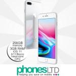 iPhone 8 Plus 256GB Silver upgrade deals