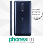 Nokia 8 64GB Tempered Blue contract deals