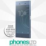 Sony Xperia XZ1 Moonlit Blue upgrade deals