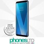 LG V30 Blue Moroccan upgrade deals