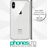 Apple iPhone X 256GB Silver contract deals