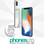 Apple iPhone X 256GB Silver upgrade deals