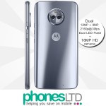 Motorola MOTO X4 32GB Sterling Blue (silver) contract deals