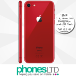 iPhone 8 64GB (Product) Red contracts