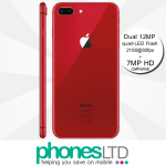 Apple iPhone 8 Plus 256GB (PRODUCT) RED