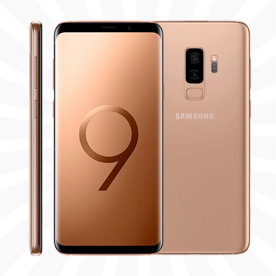 cheapest samsung galaxy s9 plus 256gb sunrise gold ee. Black Bedroom Furniture Sets. Home Design Ideas