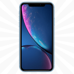 iPhone XR 64GB Blue upgrade at the lowest UK prices