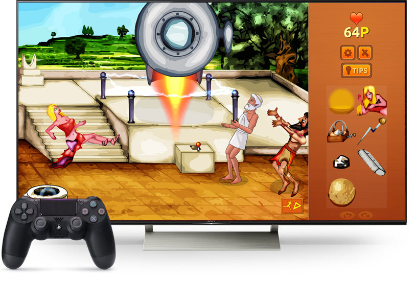 Zeus Quest Remastered for PS4