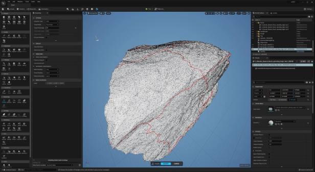 UE5 Modeling Mode TECH BLOG Simplify