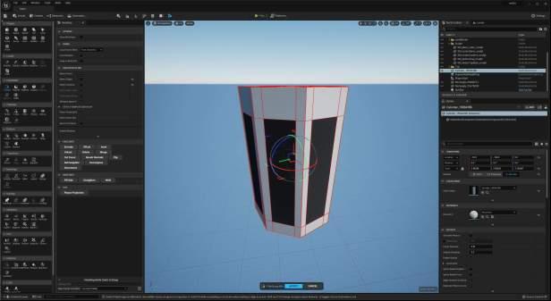 UE5 Modeling Mode TECH BLOG QuadEdit1