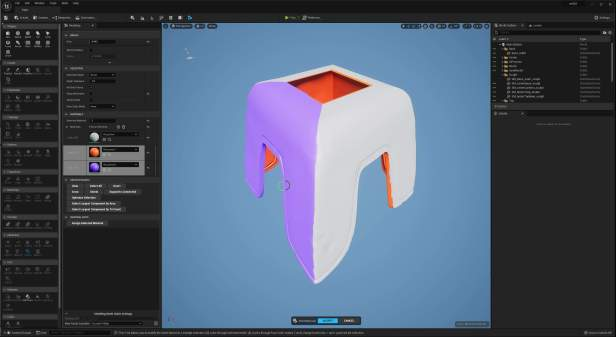UE5 Modeling Mode TECH BLOG MaterialID