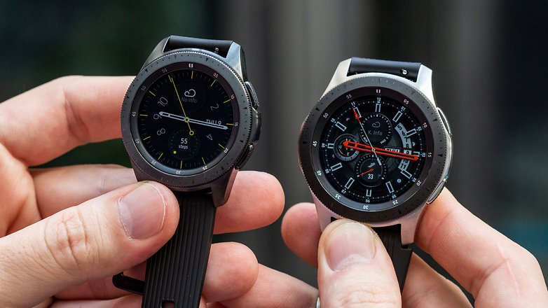 AndroidPIT samsung galaxy watch 46 42 comparison