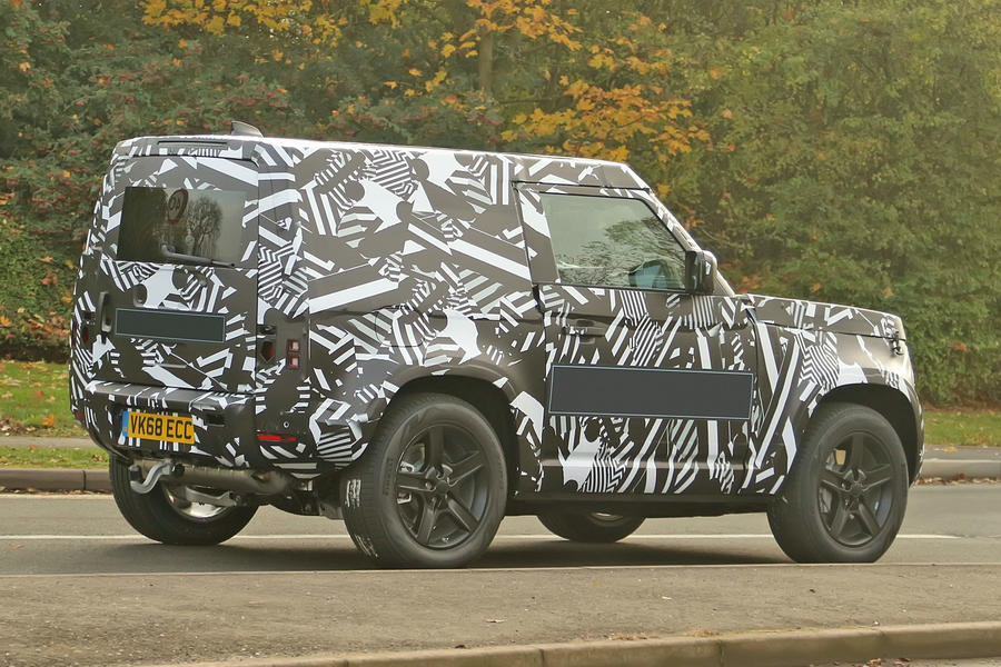 New Land Rover Defender: 2020 reborn 4x4 icon caught testing