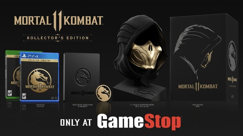 Mortal Kombat 11: Kollector's Edition goes up for preorder