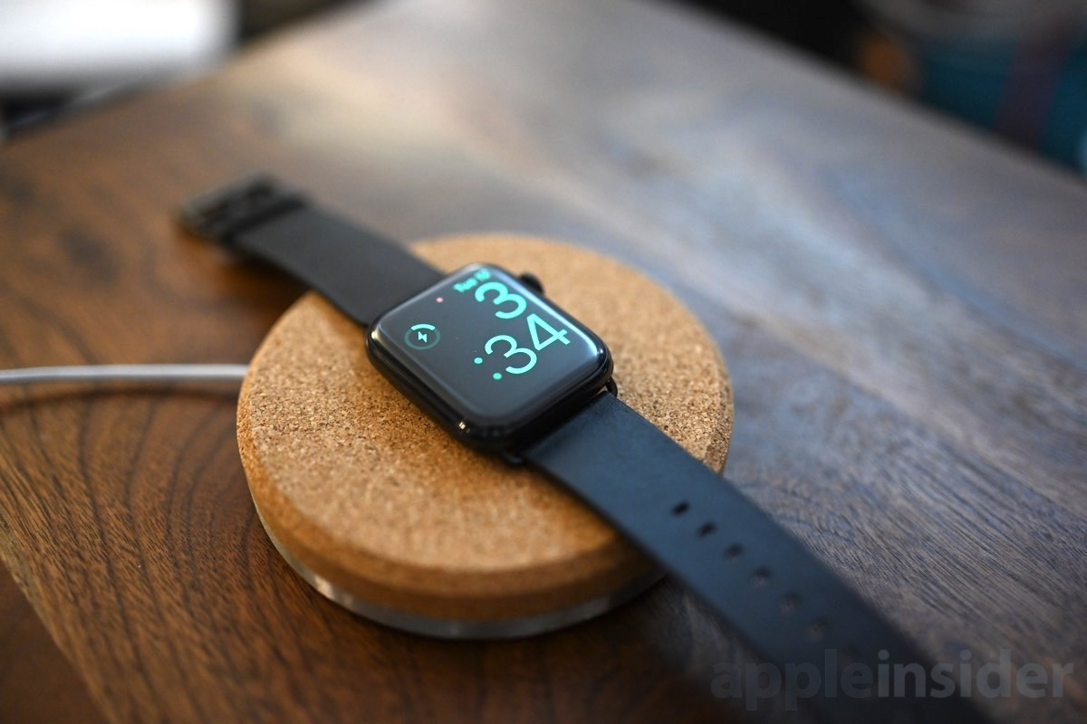 wearable apple watch charger
