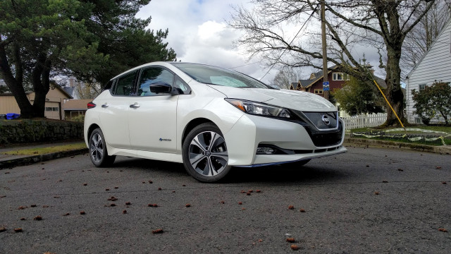 2019 Nissan Leaf Plus - Driven, March 2019