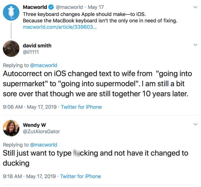 macworld podcast 652 ios keyboard twitter