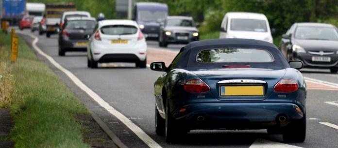 UK car market in April decline