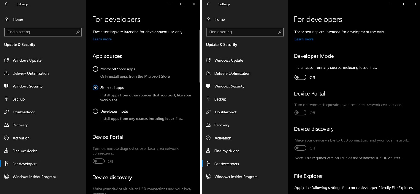 Windows 10 20H1 improves apps sideloading, adds MSIX support - Phoneweek