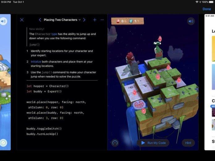 Swift Playgrounds Dark Mode