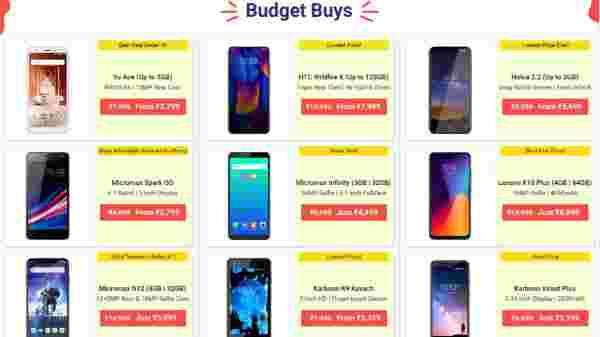 Flipkart Offers On Budget Smartphones