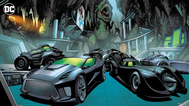 Batcave Zoom background