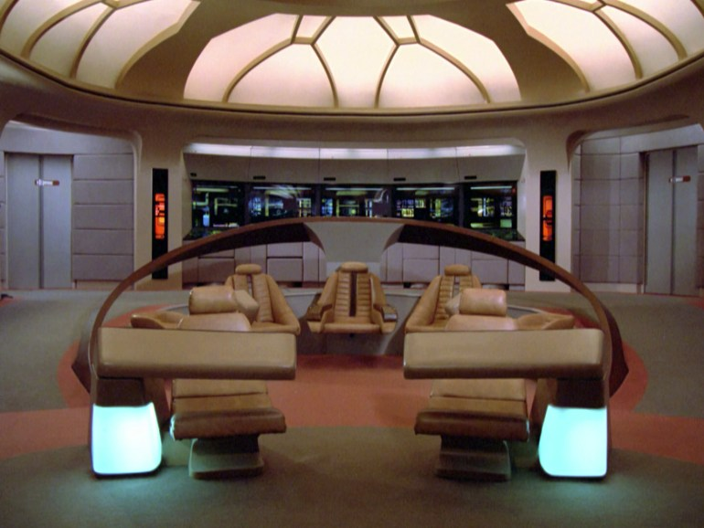 Starship enterprise Zoom background