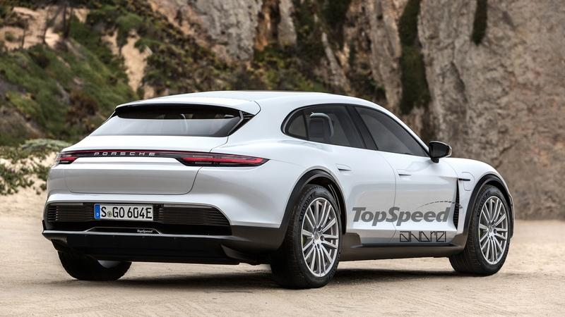 Porsche's Second Electric Car Delayed By At Least a Year Exterior Exclusive Renderings Computer Renderings and Photoshop - image 801167