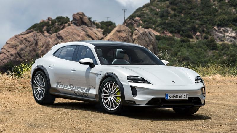 Porsche's Second Electric Car Delayed By At Least a Year Exterior Exclusive Renderings Computer Renderings and Photoshop - image 801166
