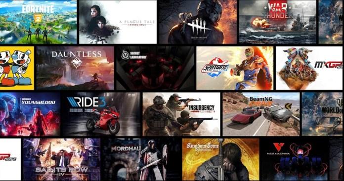 GeForce Now has 300 instant games.