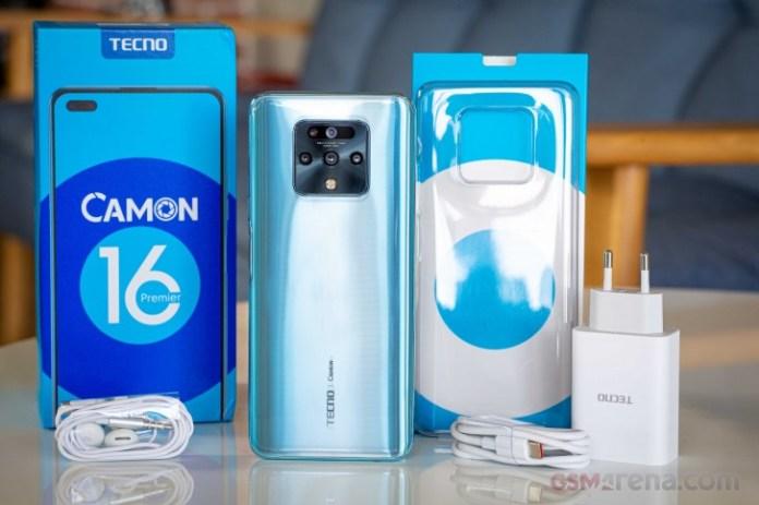 Tecno Camon 16 Premier in for review