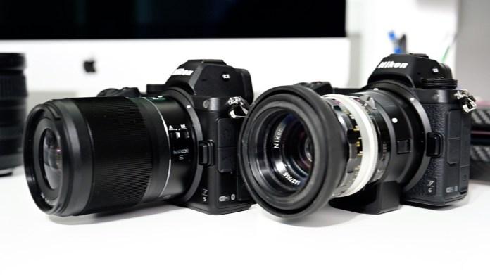 Nikon Z5 and Z6