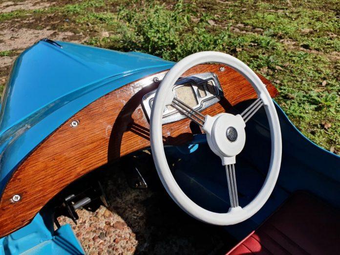 Austin J40 Steering - 2020 Concours of Elegance Junior Concours