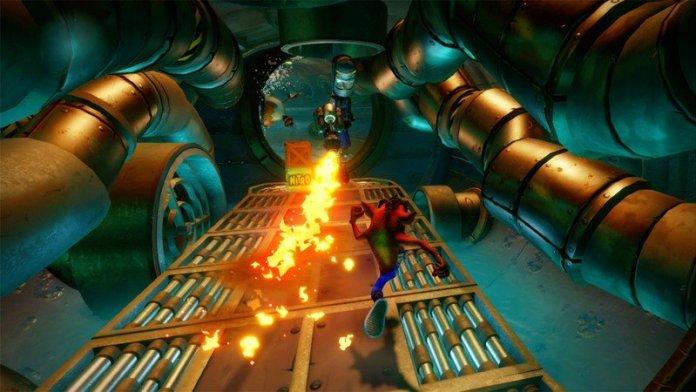 Crash Bandicoot N Sane Trilogy Switch Screenshot
