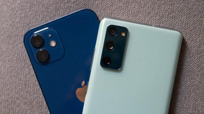 iPhone 12 vs Samsung Galaxy S20 FE cameras