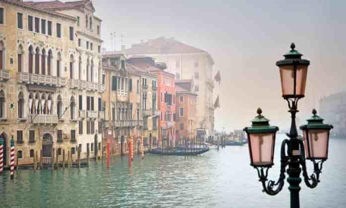 The Canal Grande. Venice