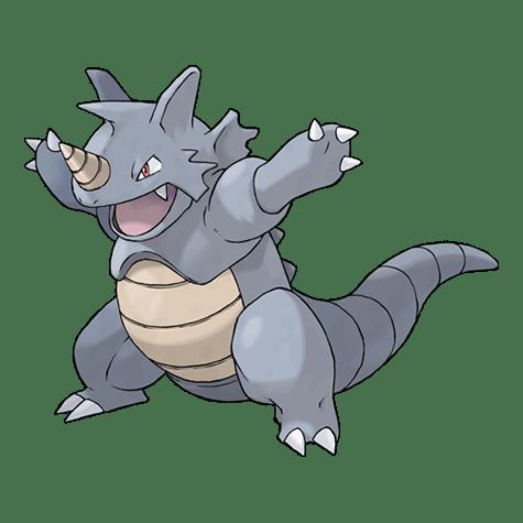 Pokemon 112 Rhydon