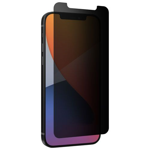 InvisibleShield by Zagg Glass Elite Privacy+ Screen Protector for iPhone 12/12 Pro. Image via Best Buy.