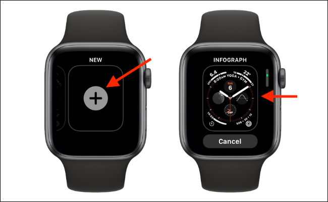 Select Infograph Watch Face