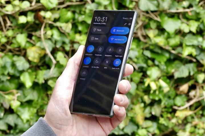 ZTE Axon 30 Ultra settings
